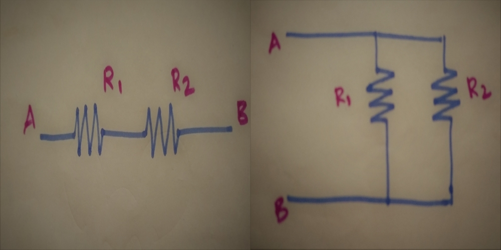 Resistor in Series and Resistor in Parallel