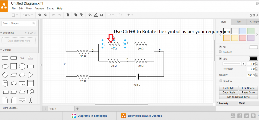 draw online electrical diagram best circuit diagram maker online tool for free  best circuit diagram maker online tool