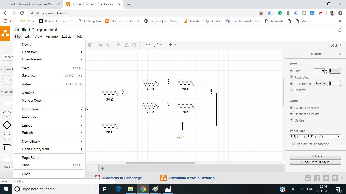 Circuit Diagram Maker Online  U2013 Zzoomit