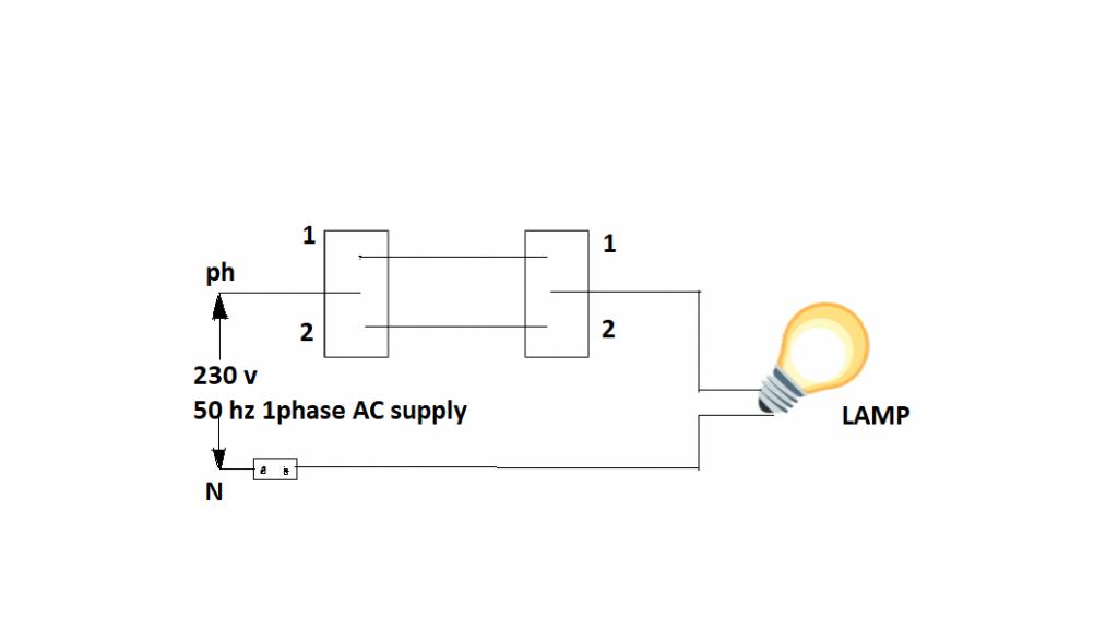 Stair Case Wiring Circuit Diagram