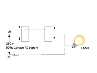 stair case wiring circuit diagram | godown wiring