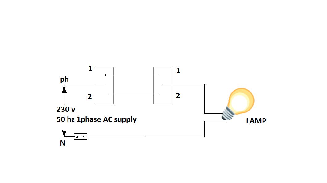 Stair Case Wiring Circuit Diagram | Godown Wiring  Zzoomit