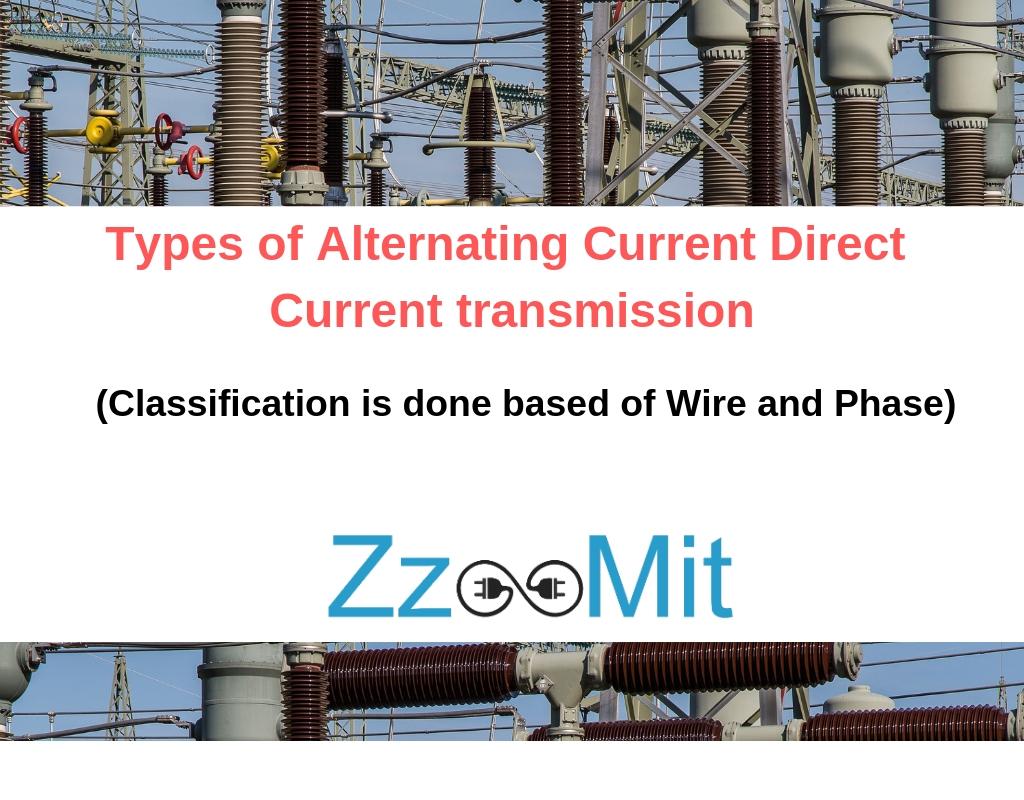 Types of Alternating Current Direct Current transmission