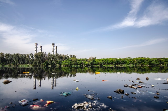 water pollution images