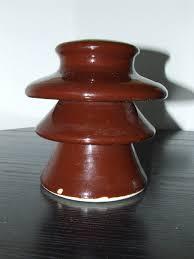 Porcelain Insulator front view (Insulators)