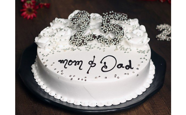 Appealing Cakes to Delight Your Loving Parents on their Marriage Anniversary