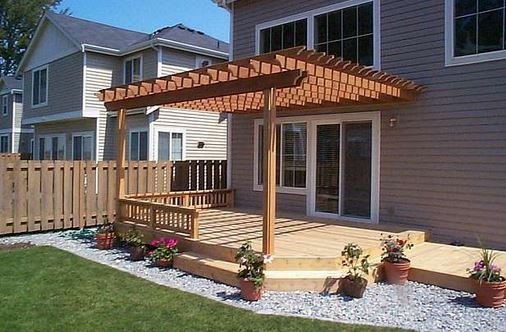How to build a pergola on the deck