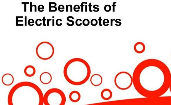Advantages of Adult Electric Scooters