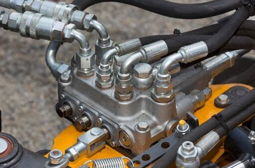 What is a hydraulic valve