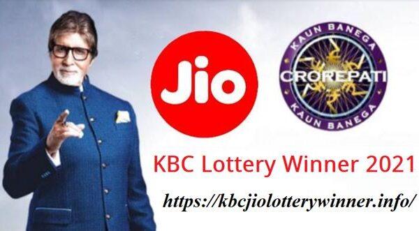 KBC Jio Lottery Winner 2021