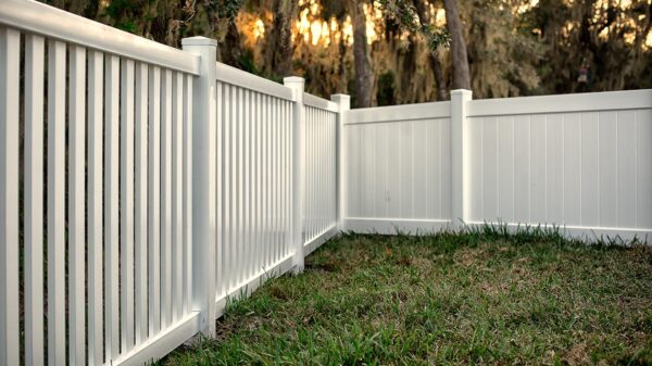 Add a Beautiful Fence to Your Yard with Semi-Privacy Fencing!