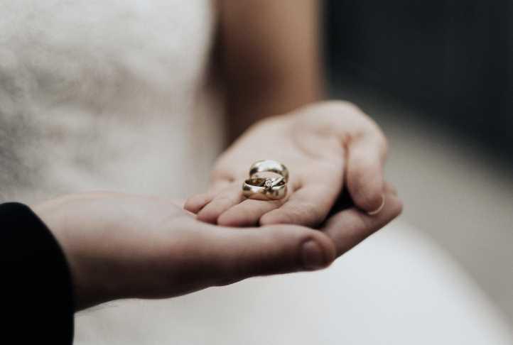 Half-Round Wedding Rings